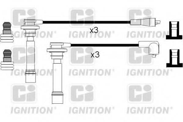 QUINTON HAZELL XC682 Комплект проводов зажигания