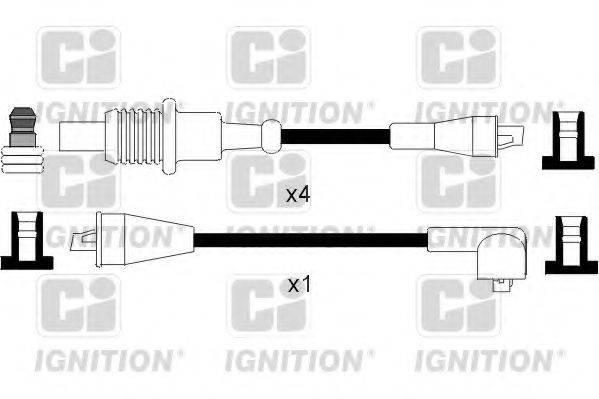 QUINTON HAZELL XC798 Комплект проводов зажигания