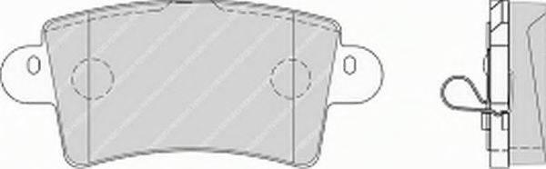 FERODO FVR1453 Комплект тормозных колодок, дисковый тормоз