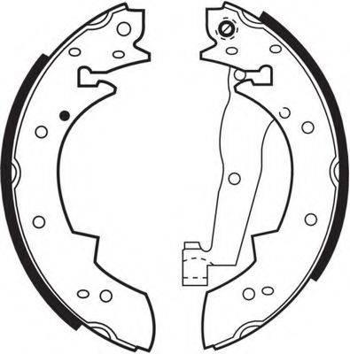 FERODO FSB173 Комплект тормозных колодок