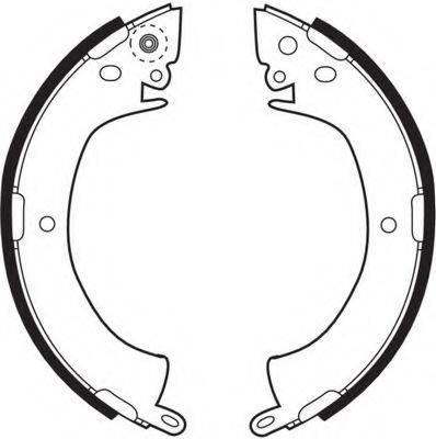 FERODO FSB249 Комплект тормозных колодок