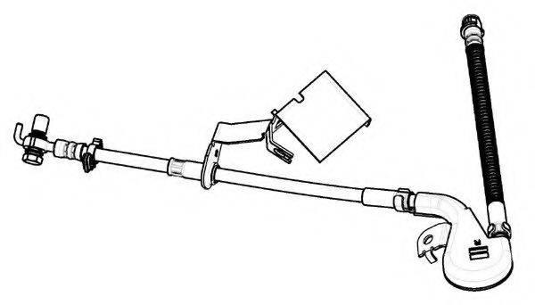FERODO FHY2660 Тормозной шланг