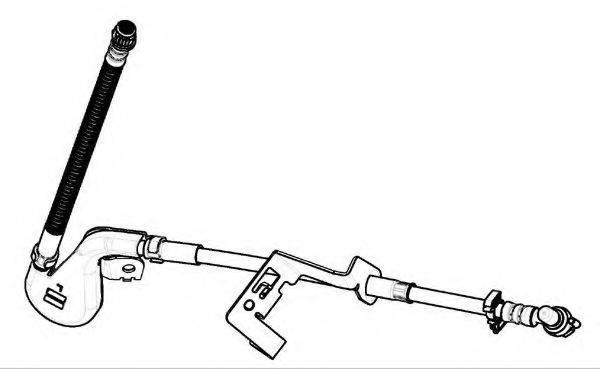 FERODO FHY2722 Тормозной шланг