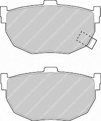 FERODO FSL638 Комплект тормозных колодок, дисковый тормоз