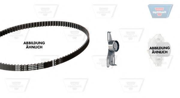 OPTIBELT KT1026W1 Водяной насос + комплект зубчатого ремня
