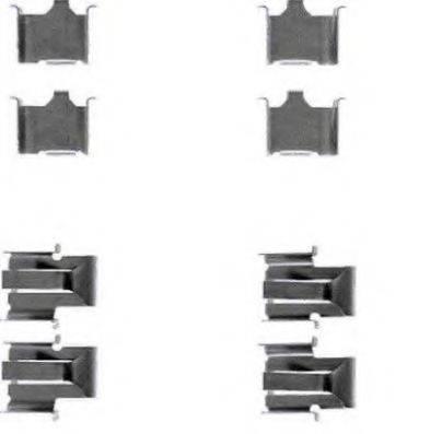 BREMBO A02286 Комплектующие, колодки дискового тормоза