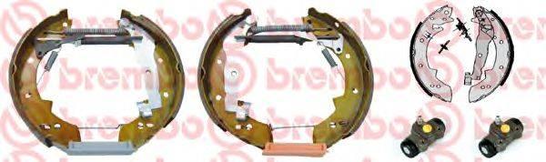 BREMBO K61019 Комплект тормозных колодок