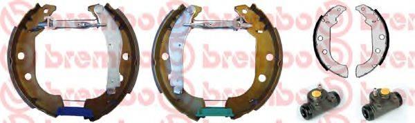 BREMBO K61047 Комплект тормозных колодок