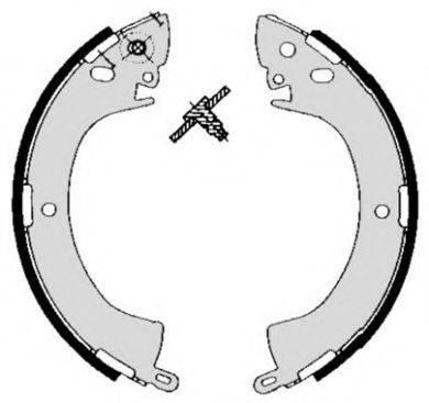 BREMBO S54506 Комплект тормозных колодок