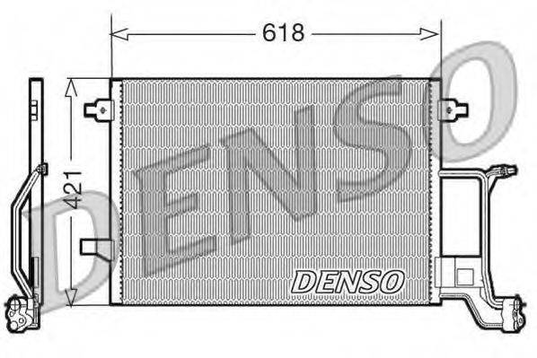 DENSO DCN02015 Конденсатор, кондиционер