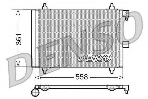 DENSO DCN21025 Конденсатор, кондиционер
