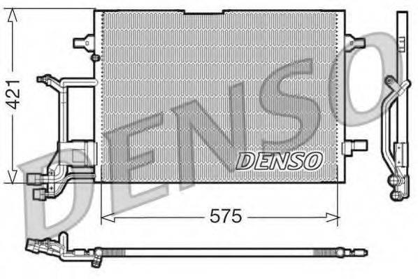 DENSO DCN32016 Конденсатор, кондиционер