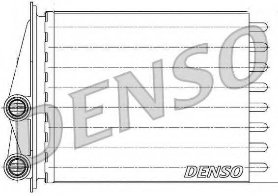 DENSO DRR23020 Теплообменник, отопление салона