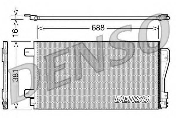 DENSO DCN23014 Конденсатор, кондиционер