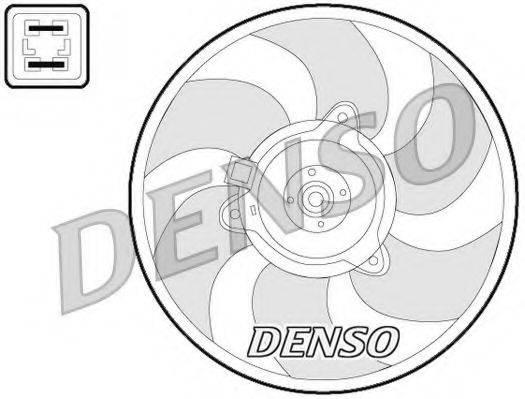DENSO DER07008 Вентилятор, охлаждение двигателя