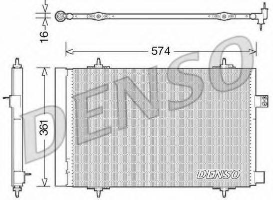 DENSO DCN21019 Конденсатор, кондиционер