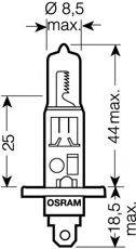 OSRAM 64150NBU Лампа накаливания, фара дальнего света; Лампа накаливания, основная фара; Лампа накаливания, противотуманная фара; Лампа накаливания, основная фара; Лампа накаливания, фара дальнего света; Лампа накаливания, противотуманная фара; Лампа накаливания, фара с авт. системой стабилизации; Лампа накаливания, фара с авт. системой стабилизации