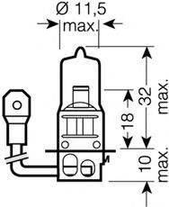 OSRAM 64151NBU01B Лампа накаливания, фара дальнего света; Лампа накаливания, основная фара; Лампа накаливания, противотуманная фара; Лампа накаливания, основная фара; Лампа накаливания, фара дальнего света; Лампа накаливания, противотуманная фара; Лампа накаливания, фара с авт. системой стабилизации; Лампа накаливания, фара с авт. системой стабилизации