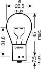OSRAM 7511TSP Лампа накаливания, фонарь указателя поворота; Лампа накаливания, фонарь сигнала торможения; Лампа накаливания, задняя противотуманная фара; Лампа накаливания, фара заднего хода; Лампа накаливания, задний гарабитный огонь; Лампа накаливания, фонарь указателя поворота; Лампа накаливания, фонарь сигнала торможения; Лампа накаливания, задняя противотуманная фара; Лампа накаливания, фара заднего хода; Лампа накаливания, задний гарабитный огонь; Лампа накаливания, фара дневного освещения; Лампа накаливания, фара дневного освещения