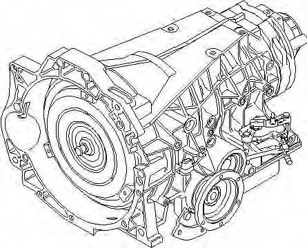 ZF 1050012007 Автоматическая коробка передач