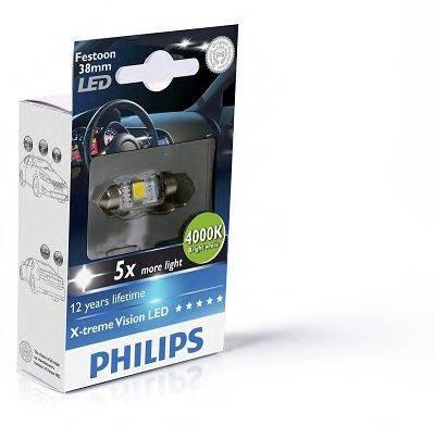 PHILIPS 128584000KX1 Лампа накаливания, oсвещение салона; Лампа накаливания, фонарь установленный в двери; Лампа накаливания, фонарь освещения багажника; Лампа накаливания, подкапотная лампа; Лампа накаливания; Лампа, страховочное освещение двери; Лампа, освещение ящика для перчаток; Лампа, лампа чтения; Лампа, входное освещение
