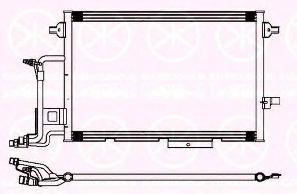 KLOKKERHOLM 0014305137 Конденсатор, кондиционер