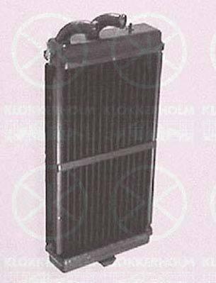 KLOKKERHOLM 0010306052 Теплообменник, отопление салона
