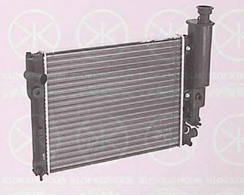 KLOKKERHOLM 5535302092 Радиатор, охлаждение двигателя