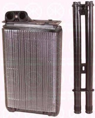 KLOKKERHOLM 5536306100 Теплообменник, отопление салона