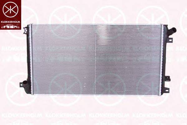 KLOKKERHOLM 6088302408 Радиатор, охлаждение двигателя