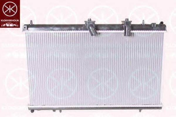 KLOKKERHOLM 0524302229 Радиатор, охлаждение двигателя