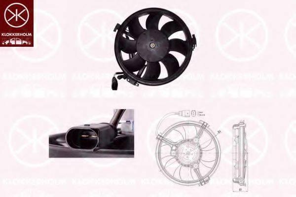 KLOKKERHOLM 95392602 Вентилятор, охлаждение двигателя