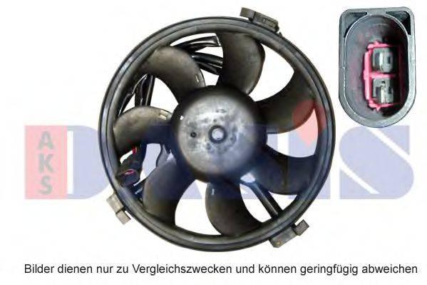 AKS DASIS 048700N Вентилятор, охлаждение двигателя