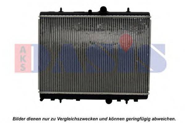 AKS DASIS 060046N Радиатор, охлаждение двигателя