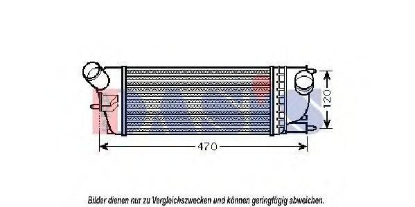AKS DASIS 167012N Интеркулер