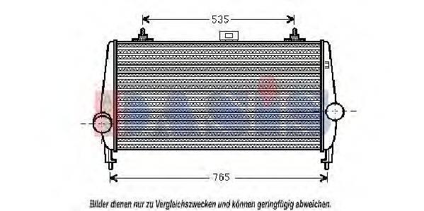 AKS DASIS 167014N Интеркулер