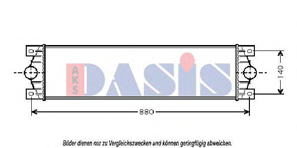 AKS DASIS 187014N Интеркулер