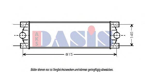 AKS DASIS 187200N Интеркулер
