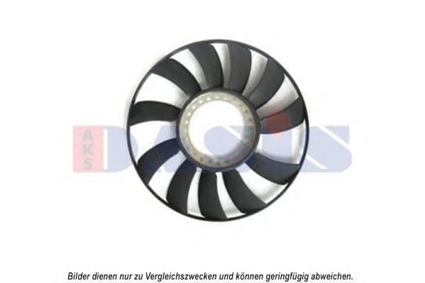 AKS DASIS 488000N Крыльчатка вентилятора, охлаждение двигателя