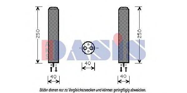 AKS DASIS 800412N Осушитель, кондиционер