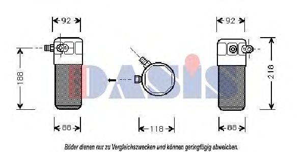 AKS DASIS 802480N Осушитель, кондиционер