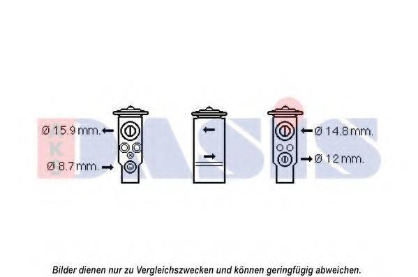 AKS DASIS 840211N Расширительный клапан, кондиционер
