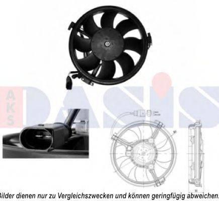 AKS DASIS 048111N Вентилятор, охлаждение двигателя