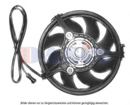 AKS DASIS 488025N Вентилятор, охлаждение двигателя