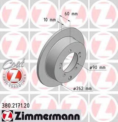 ZIMMERMANN 380217120 Тормозной диск