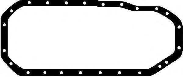 GLASER X0264301 Прокладка, маслянный поддон