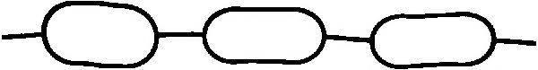 GLASER X5894201 Прокладка, впускной коллектор