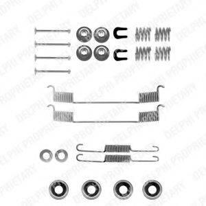 DELPHI LY1081 Комплектующие, тормозная колодка