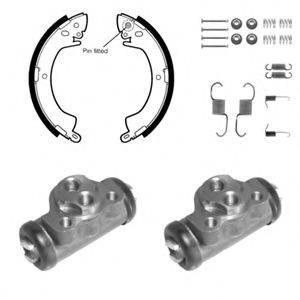 DELPHI 970 Комплект тормозных колодок