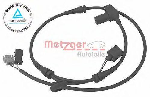 METZGER 0900084 Датчик, частота вращения колеса